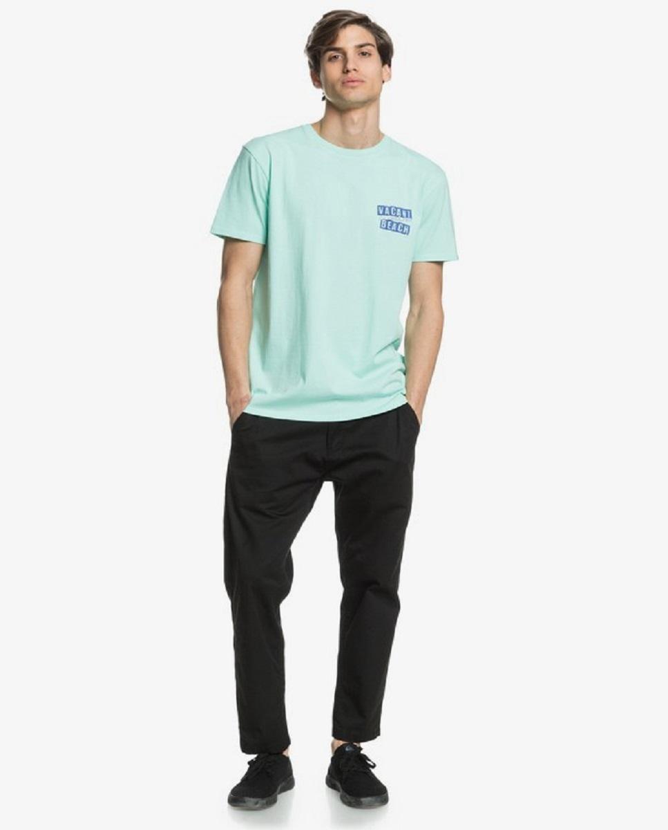 camiseta quiksivler vacant beach verde
